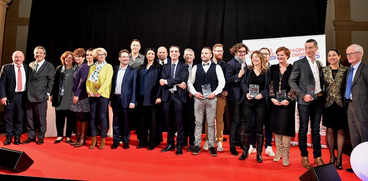 9 success stories aux Trophées du commerce à Lyon - CCI Lyon